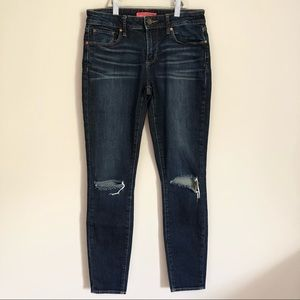 Articles of Society Skinny Fit Distressed Jeans